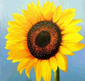 Diamond Painting | Diamond Painting - Sunflower | Diamond Painting Flowers flowers | FiguredArt