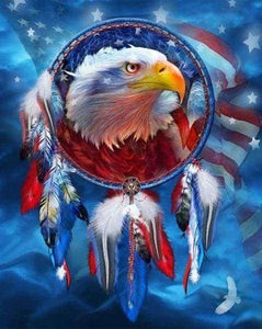 Diamond Painting | Diamond Painting - The Eagle USA | animals Diamond Painting Animals eagles | FiguredArt
