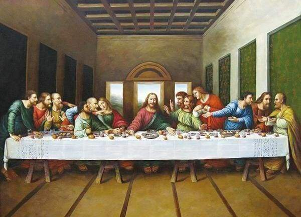 Diamond Painting | Diamond Painting - The Last Supper | Diamond Painting Religion religion | FiguredArt