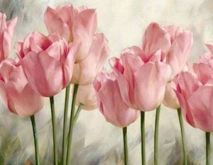 Diamond Painting | Diamond Painting - Tulips | animals Diamond Painting Animals | FiguredArt
