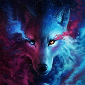 Diamond Painting | Diamond Painting - Wolf Mind | animals Diamond Painting Animals rabbits wolves | FiguredArt