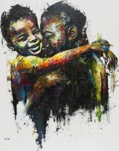 Load image into Gallery viewer, paint by numbers | Fathers love | advanced portrait | FiguredArt