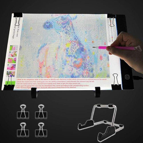 accessories diamond painting | LED Light Pad for Diamond Painting | usa.figuredart