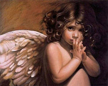 Load image into Gallery viewer, paint by numbers | Little Angel | advanced religion | FiguredArt