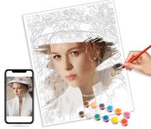 Load image into Gallery viewer, Custom Paint by Numbers Kit - FREE Graphic design