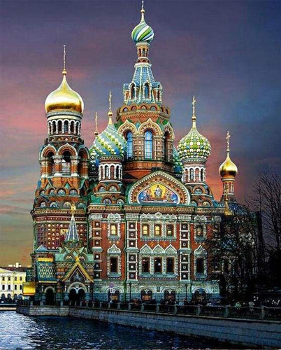 paint by numbers | Russia | advanced cities | FiguredArt
