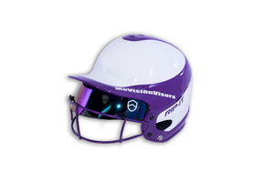 MoVision Batters Helmet Visor - Smoke