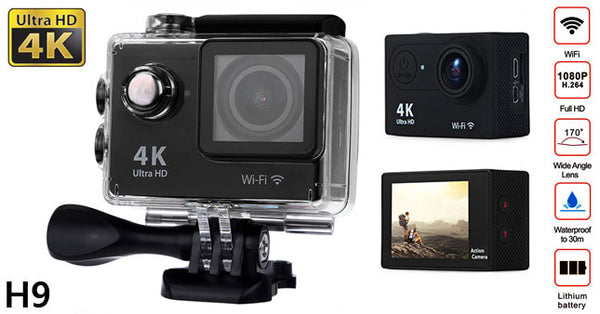 CAMERA VIDEO SPORT - AUTHENTIC H9