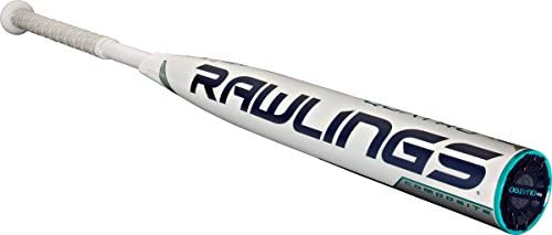"Rawlings Sporting Goods Quatro Composite High School/Collegiate Fast Pitch Softball Bat, 34""/25 oz"