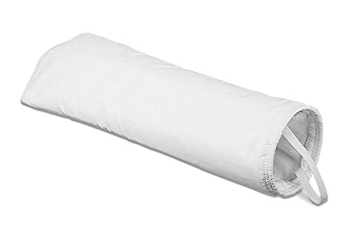 Rosedale Products PE-100-P2S Polyester Felt Filter Bag, 100 μ, White(Pack of 50)
