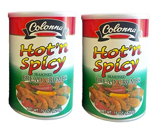Colonna Hot 'N Spicy Seasoned Bread Crumbs 15oz (2pack)