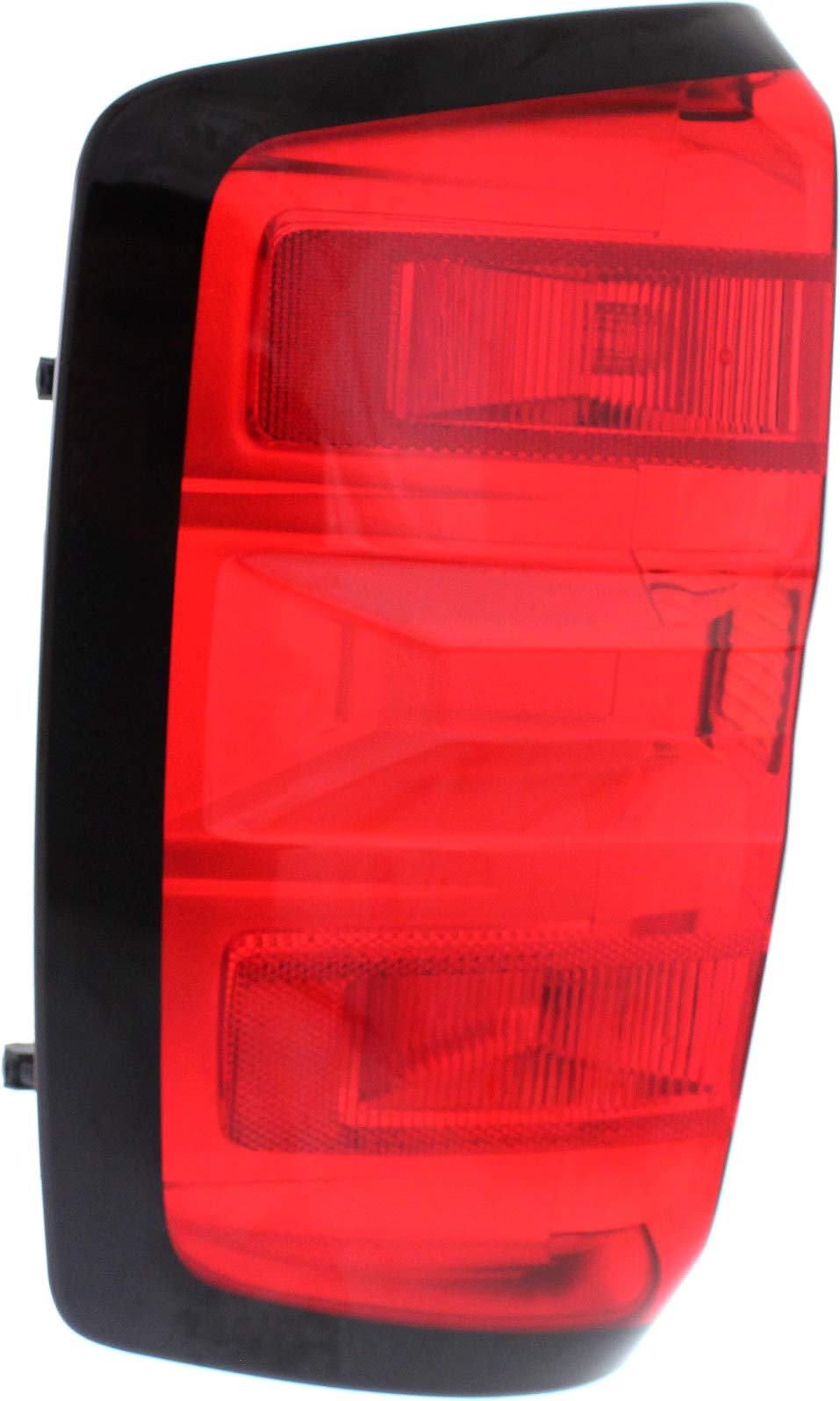 Tail Light Assembly Compatible with 2014-2015 Chevrolet Silverado 1500 (3500HD with Dual Rear Wheels Only) Driver Side