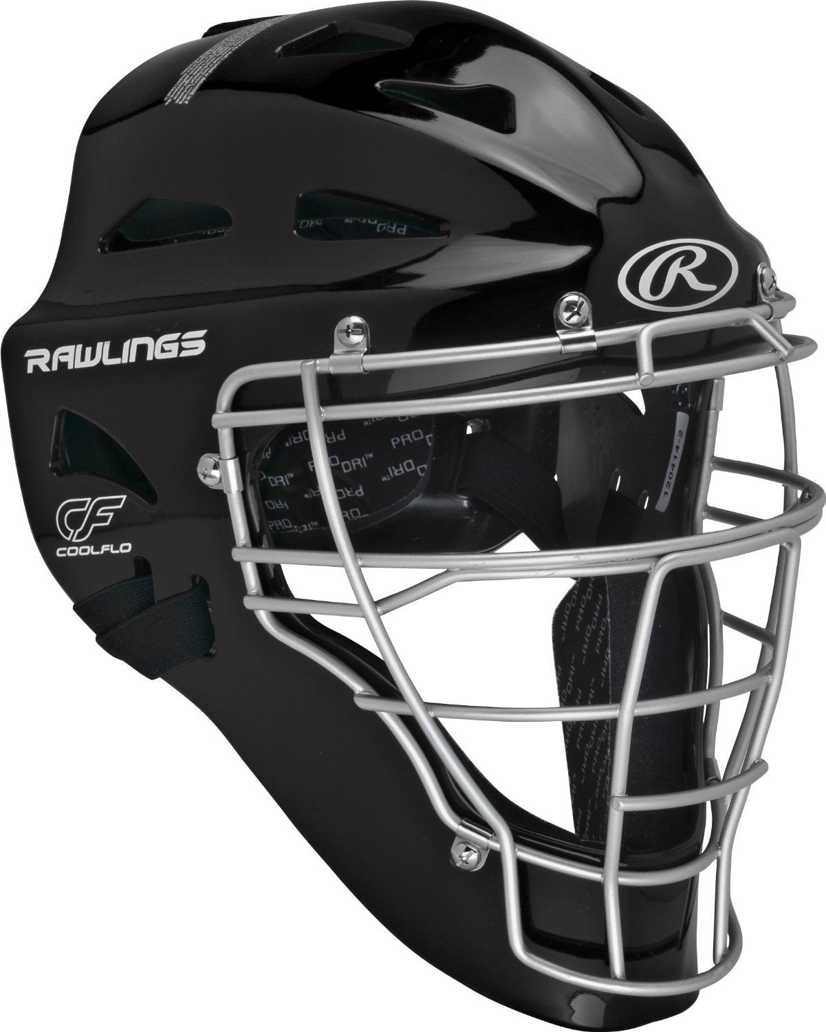Rawlings Sporting Goods Renegade Series Catcher Set (Ages 12-15), Black/Silver
