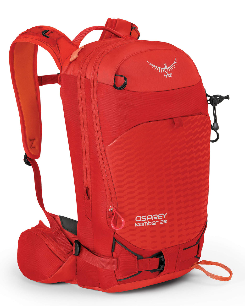 Osprey Packs Kamber 22 Men's Ski Pack, Ripcord Red, Small/Medium