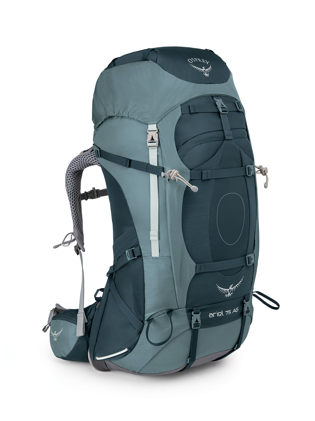 Osprey Packs Women's Ariel AG 75 Backpack, Boothbay Grey, Medium