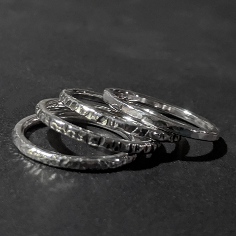 Custom Silver Stackers