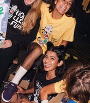 "EMO NITE + GEO ""GOOD CLEAN FUN"" TEE"