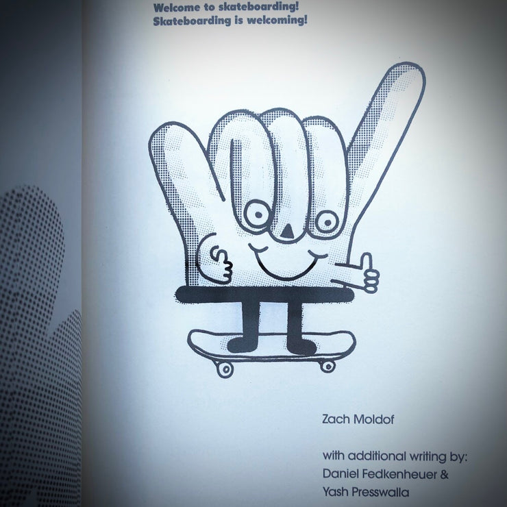 Skate Bud book: Welcome to Skateboarding