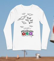 "Bat Smiley ""FEAR WILL NOT WIN"" Long Sleeve"