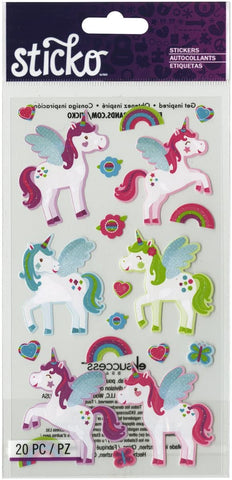 STICKERS UNICORNIO