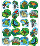 STICKERS  RAINFOREST ANIMALS