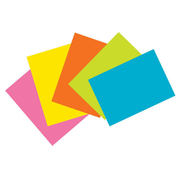 INDEX CARDS DE COLORES LISA 4X6 S/BRIGHT