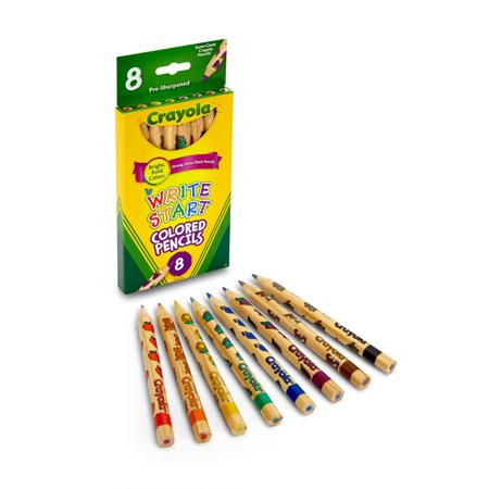 COLORES CRAYOLA WRITE STAR 8CLRS