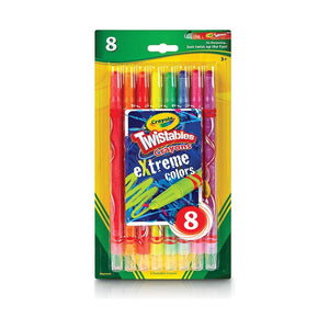 CRAYONS TWISTABLES EXTREME 8