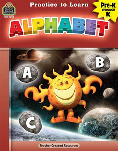 LIBRO PRACTICE TO LEARN ALPHABET PREK-K