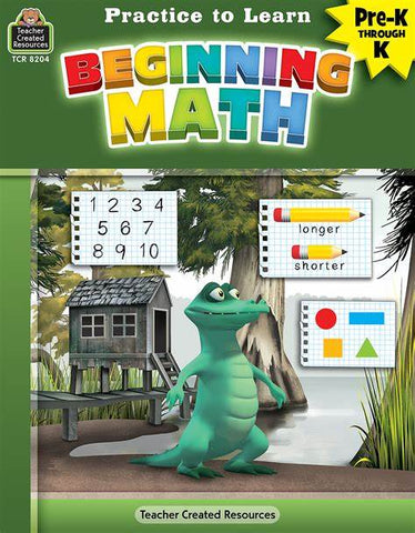 LIBRO PRACTICE TO LEARN BEGINNING MATH P