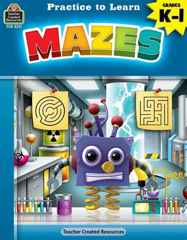LIBRO PRACTICE TO LEARN MAZES K-1