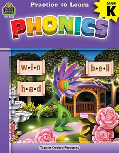 LIBRO PRACTICE TO LEARN PHONICS K
