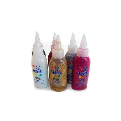 PLASTICOLA BRILLO COLORES 38ML