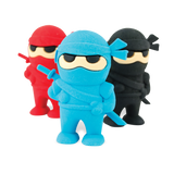 SET DE BORRADORES NINJA OOLY 3PC