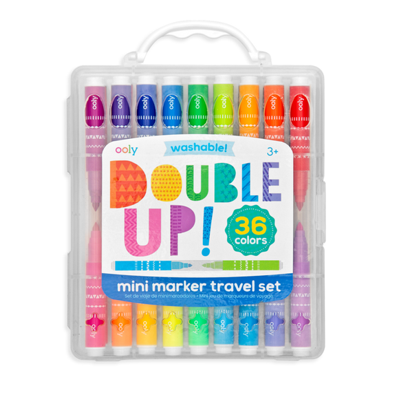 SET DE MARCADORES DOUBLE UP OOLY 36CLRS