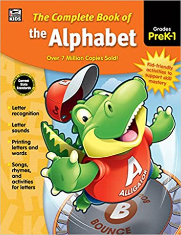 COMPLETE BOOK OF ALPHABET