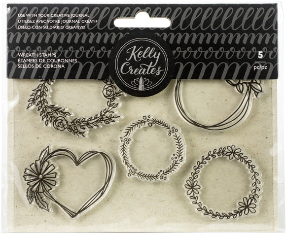 SELLOS DE CORONA 5 PZS - KELLY CREATES