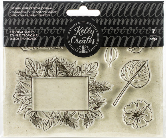 SELLOS TROPICALES 7 PZS - KELLY CREATES