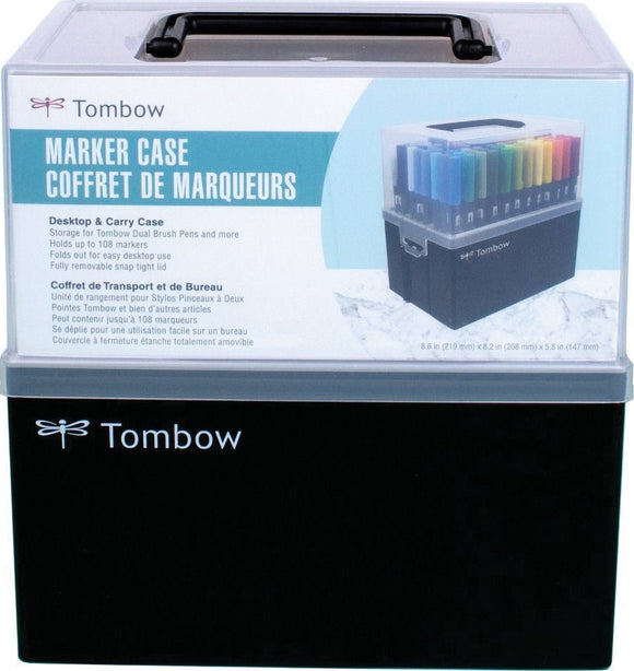 SET DE MARCADORES DOBLE PUNTA TOMBOW 108PC