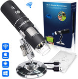 WIFI DIGITAL MICROSCOPE NEGRO