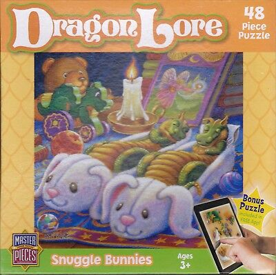 ROMPECABEZA DRAGON LORE SNUGGLE BUN 48PC