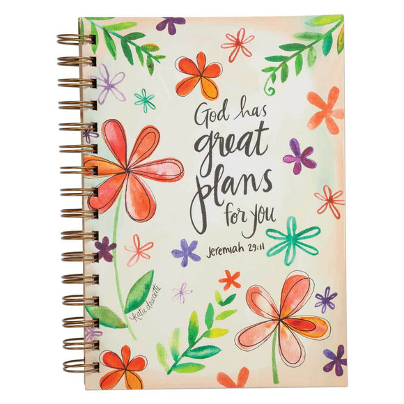 LIBRETA JOURNAL GOD HAS GREAT PLANS FOR YOU