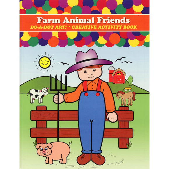 LIBRO DE COLOREAR FARM ANIMAL FRIEND