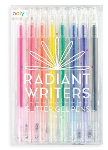 BOLÍGRAFO GEL RADIANT WRITERS OOLY 8CLRS