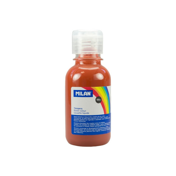 PINTURA TEMPERA MARRON MILAN 125ML