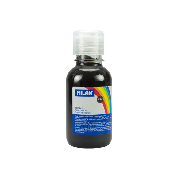 TEMPERA NEGRA MILAN 125ML