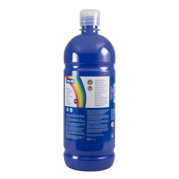 PINTURA TEMPERA AZUL ULTRA MILAN 1000ML