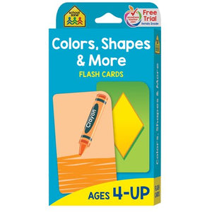 FLASH CARDS COLORS, SHAPES & MORE