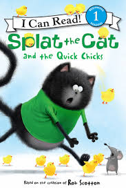 LIBRO SPLAT THE CAT AND THE QUICK CHICKS 1DA