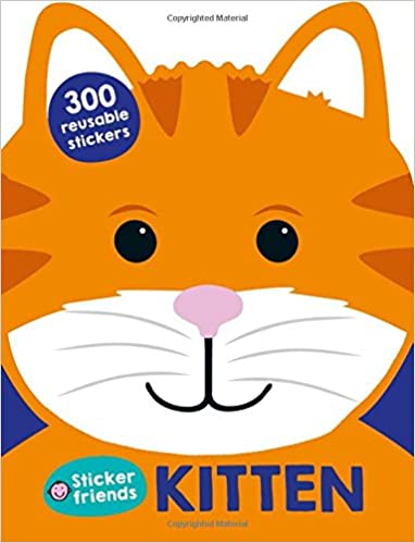 LIBRO DE STIKERS FRIENDS KITTEN